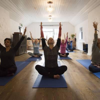yoga retreat in wicklow